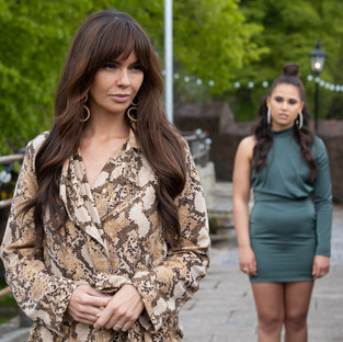 Mercedes discovers the truth about Cher's scheming in Hollyoaks
