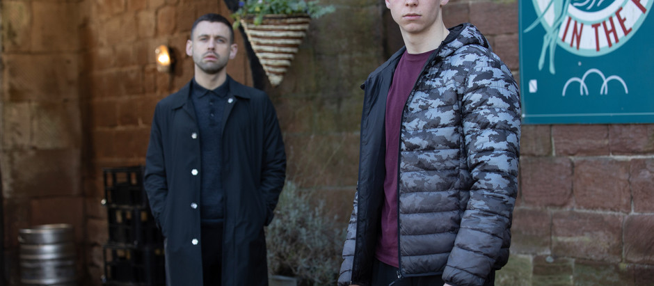 Dramatic scenes in Hollyoaks as Sid double crosses Victor and Luke gives up on Ollie