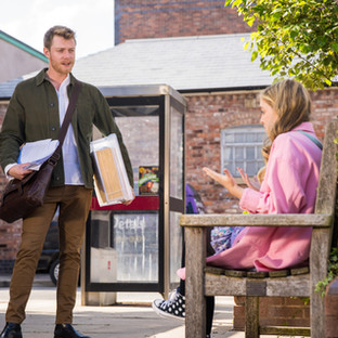 Daniel gives Summer the confidence she needs in Corrie