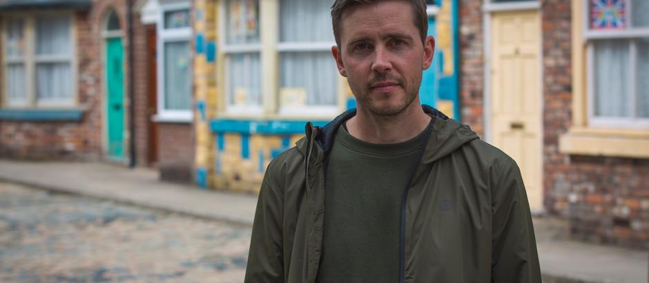 Coronation Street recast Todd Grimshaw