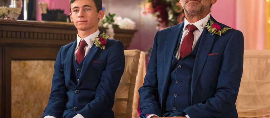 Kevin waits for Abi at the wedding venue in Corrie as Nina delivers some BIG news about Corey