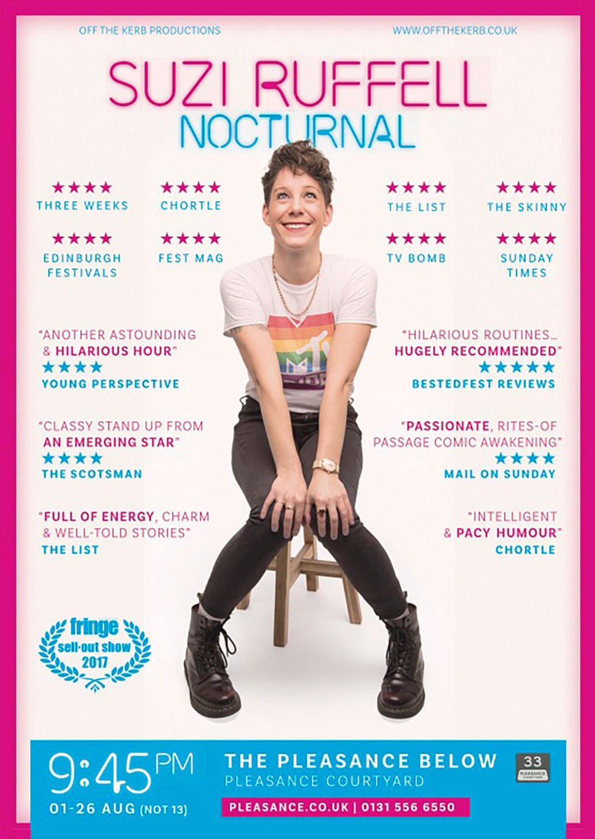 Suzi Ruffell Poster 2018