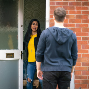 Alya ends relationship with Ryan after he sleeps with Daisy in Corrie