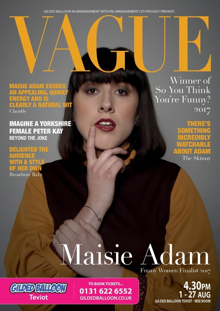 Maisie Adam Poster 2018