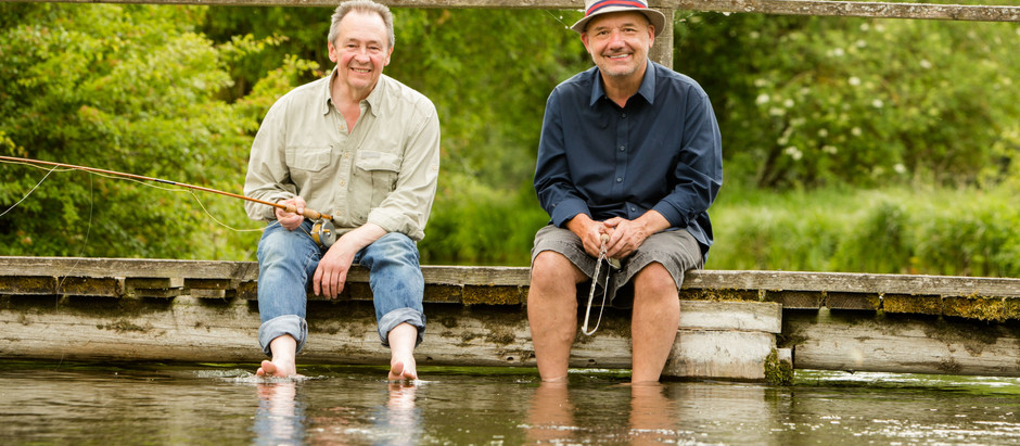 Mortimer & Whitehouse: Gone Fishing WILL return for a fourth series