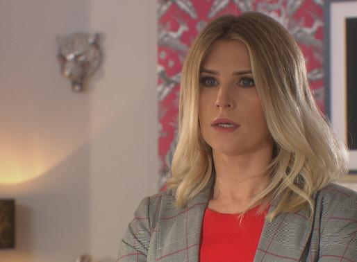 Mandy's increasingly worried for Darren in Hollyoaks