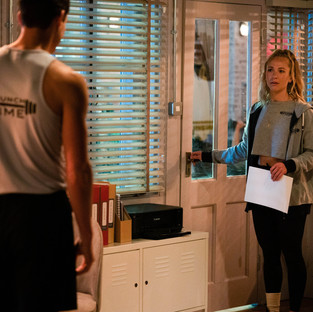 Nancy and Zack are forced to keep their relationship a secret in EastEnders