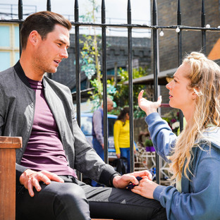 Nancy to go travelling again after breaking up with Zack in EastEnders