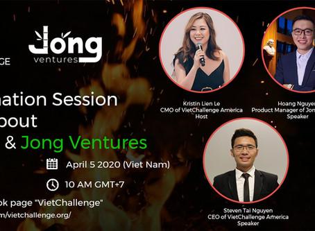 Webinar: Information session about VietChallenge & Jong Ventures