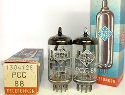 PCC88 7DJ8 Telefunken Berlin Made in West Germany 6DJ8 6922