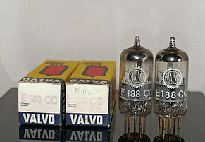 Valvo Philips E188CC 7308 Gold Pin Tubes Holland 1960's