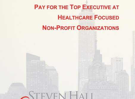 Top Executive Compensation at Healthcare Focused Non-Profit Organizations