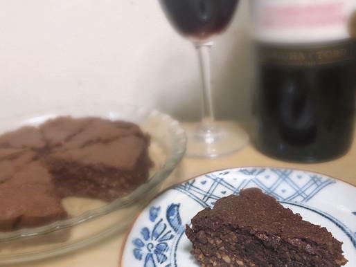 赤ワインに合う♪お豆腐チョコケーキ