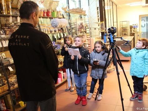 Interview à La Ferme au Chocolat