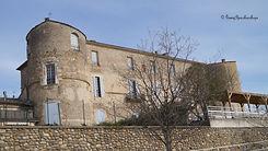 Le château d'Oraison