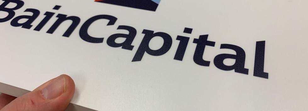 Bain Capital Plaque - ObserveIT