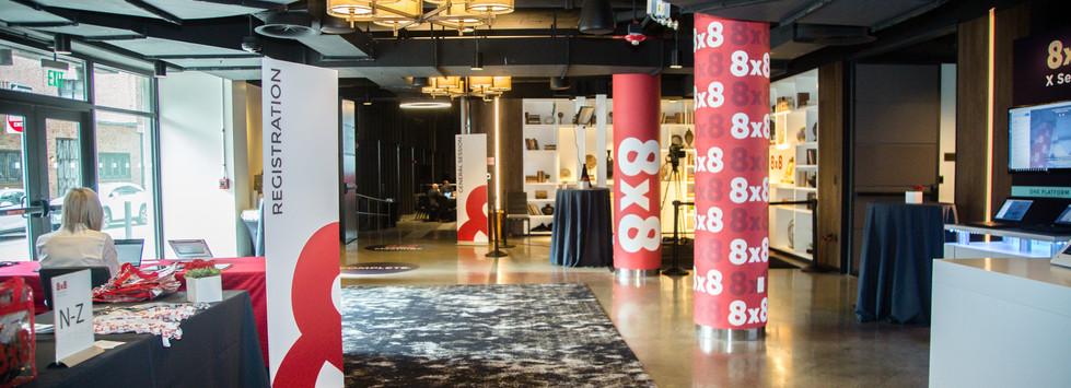 8x8 Experience Lobby