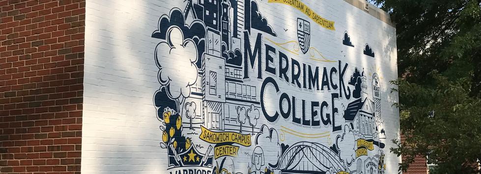 Merrimack College Selfie Wall