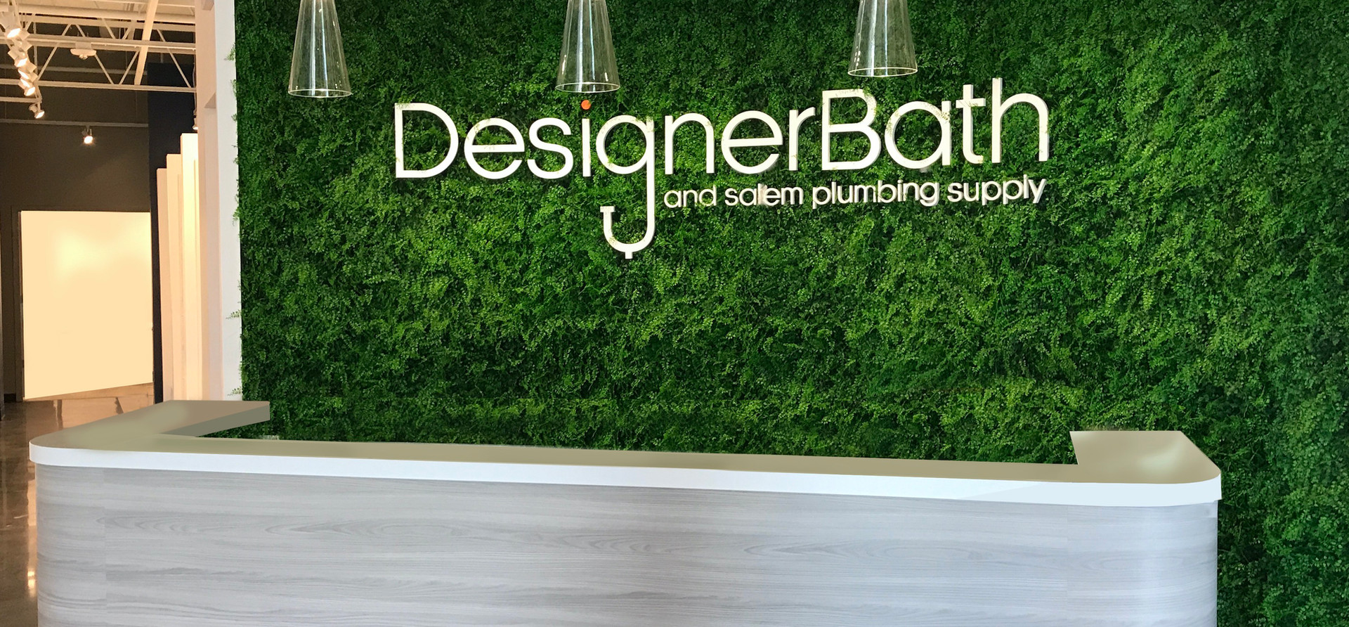 Designer Bath Showroom Reception