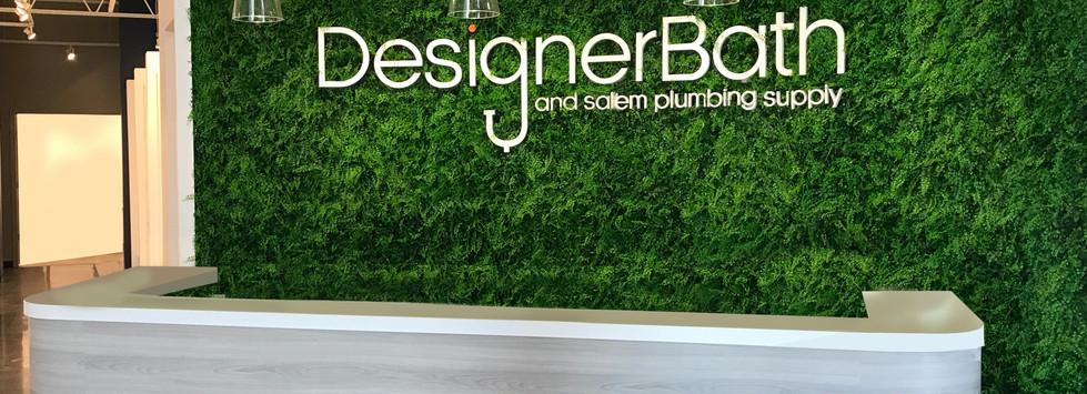 Designer Bath Showroom Reception