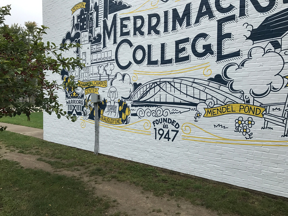 Merrimack College Selfie Wall 2
