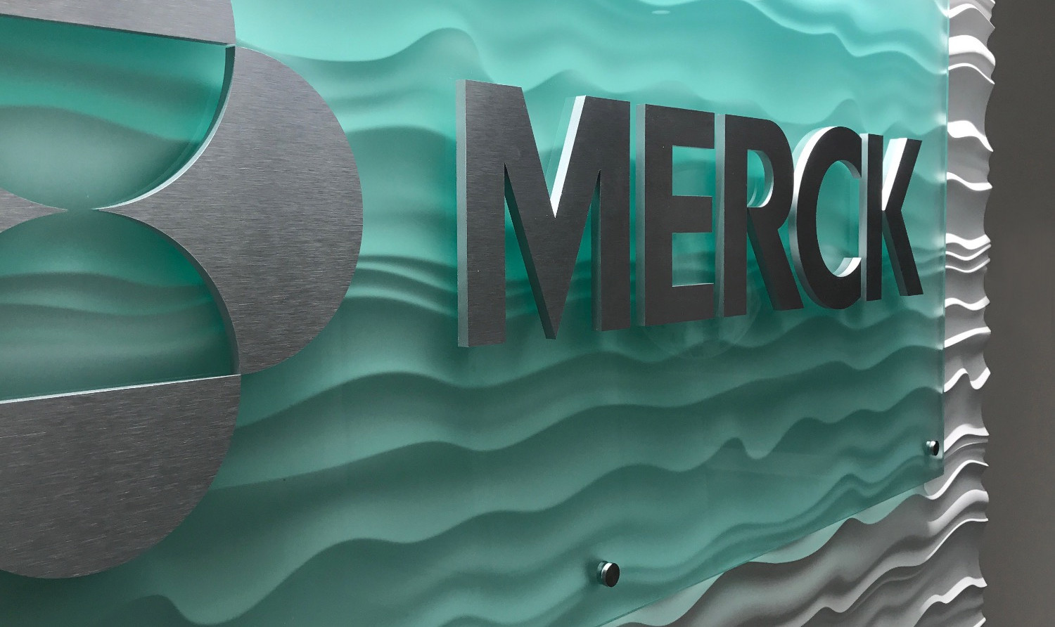 Merck Abstract Wall