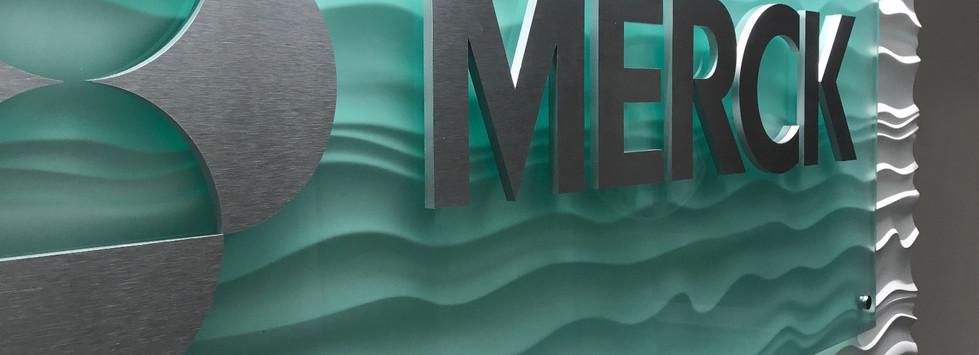 Merck Abstract Wall