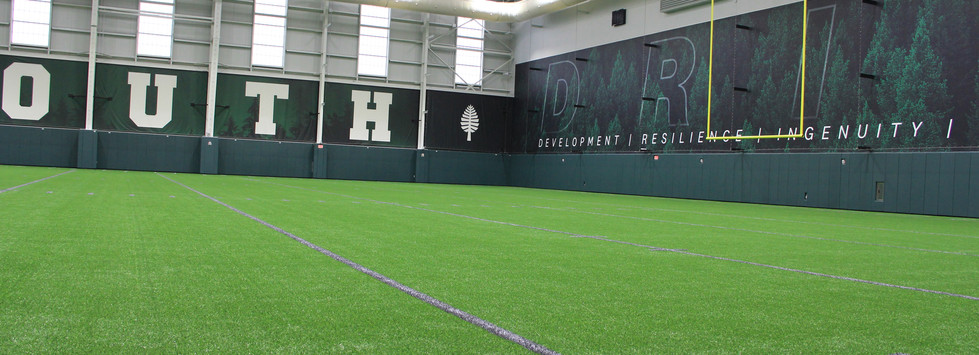 Dartmouth College Indoor Practice Facility South Wall