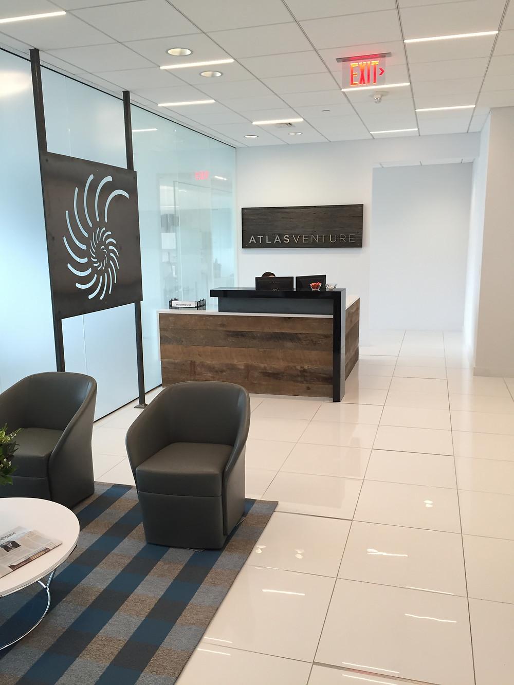 Atlas Venture Lobby
