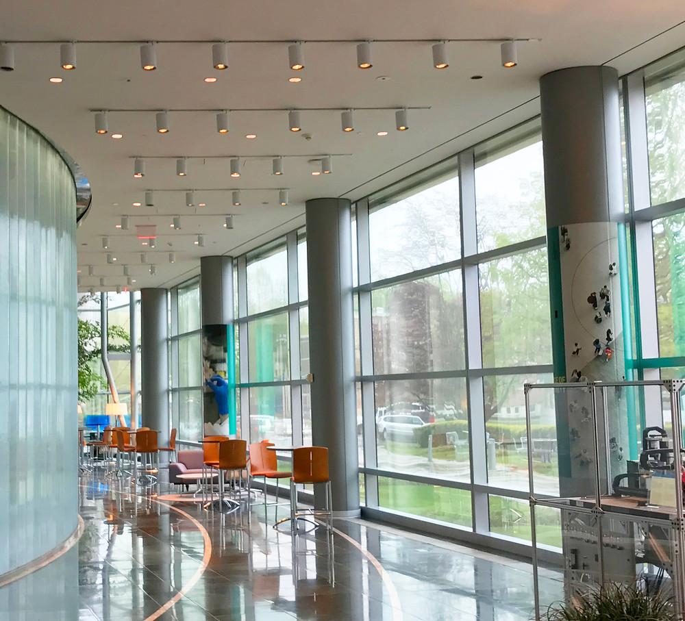 Merck Research Labs Boston Lobby