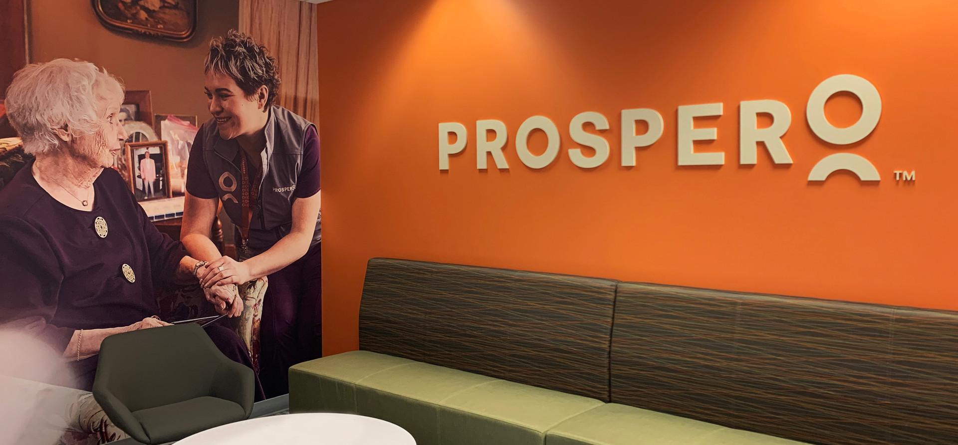 Prospero Health Lobby