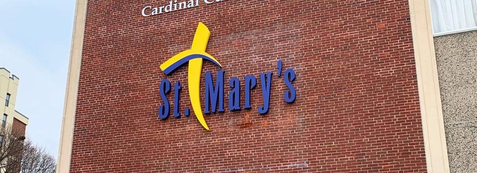 St. Mary's Illuminated Logo