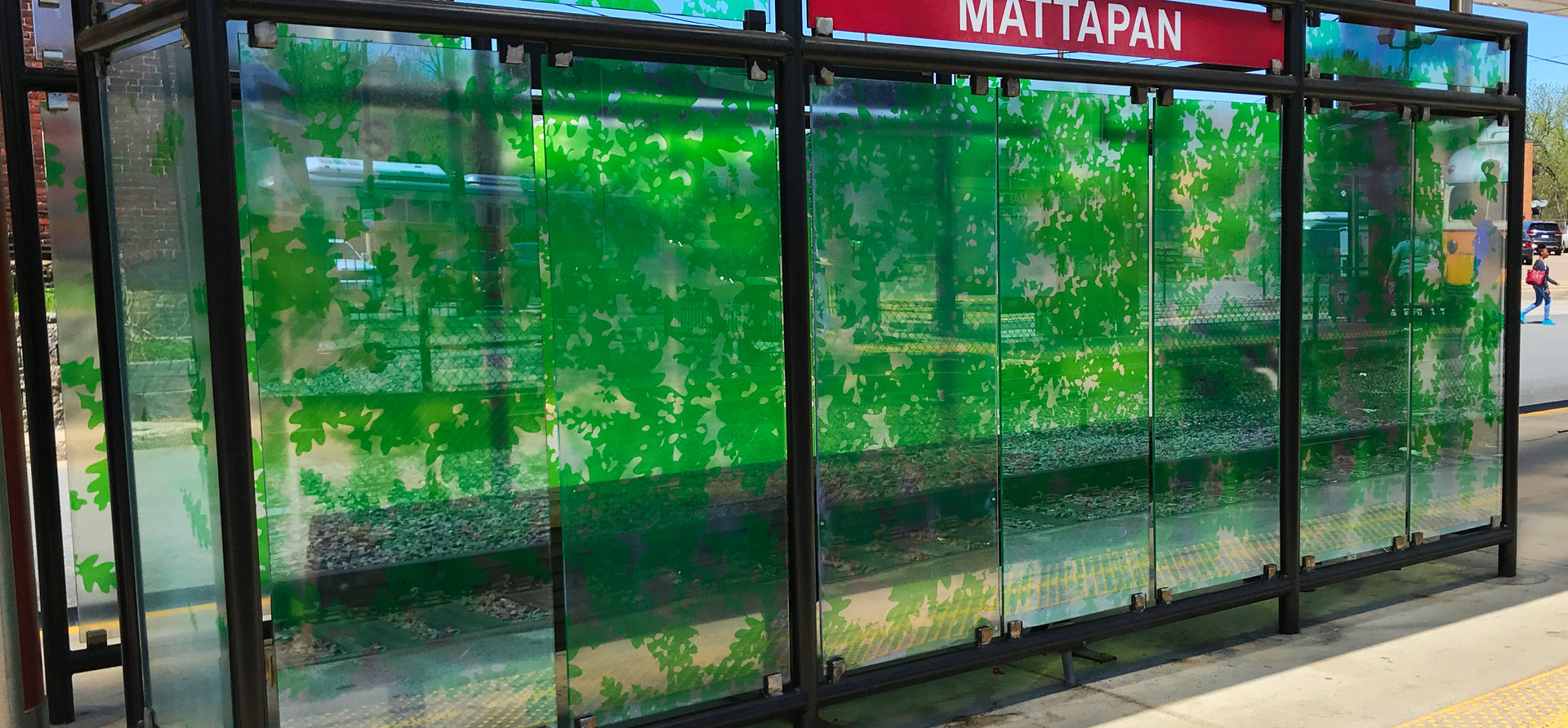 MBTA Vestibule Mattapan