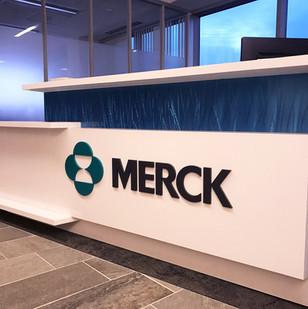 Merck Reception Desk Cambridge, MA