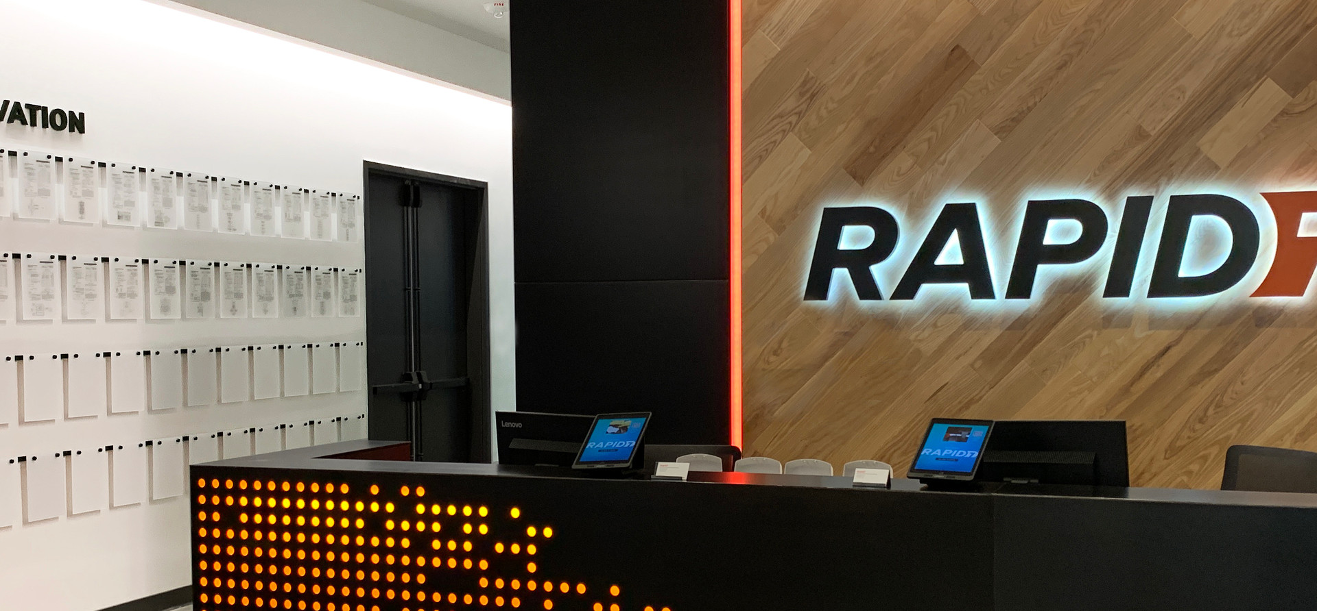 Rapid7 Patent Wall