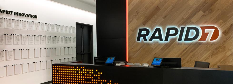 Rapid7 Patent Wall