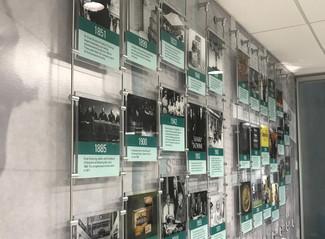 Merck Timeline Installation Cambridge, MA