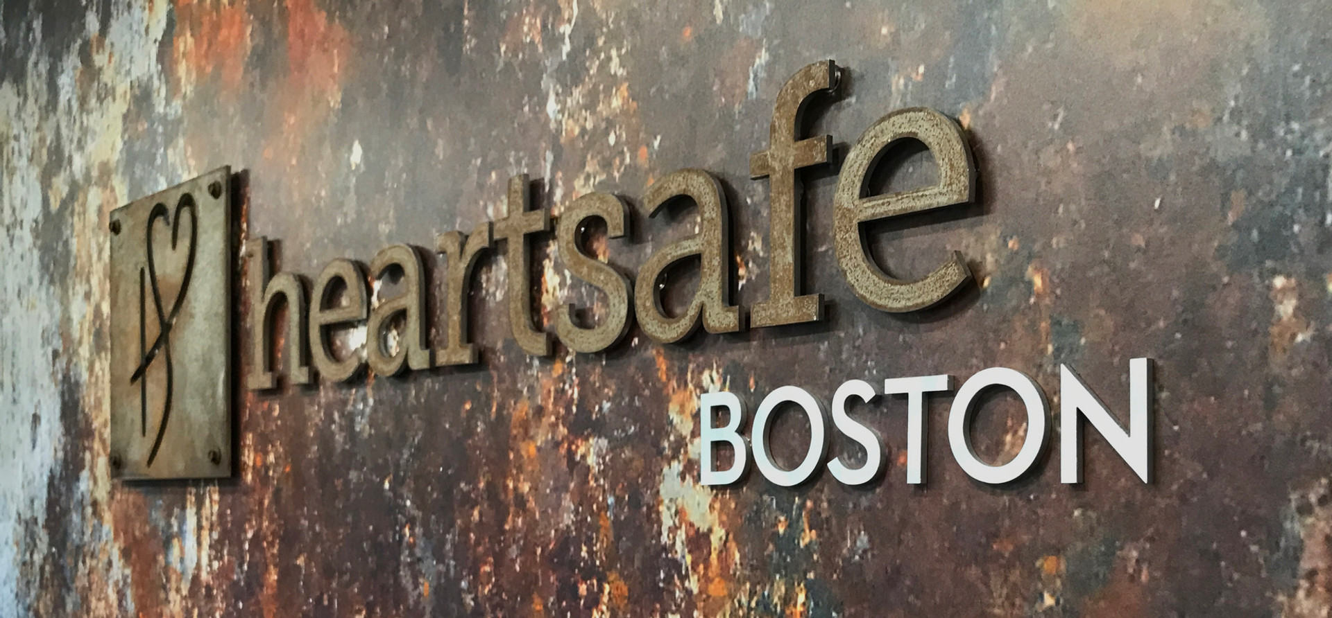 Heartsafe Lobby Wall