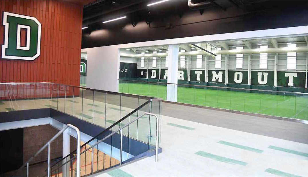 Dartmouth College Indoor Practice Facility Mezzanine
