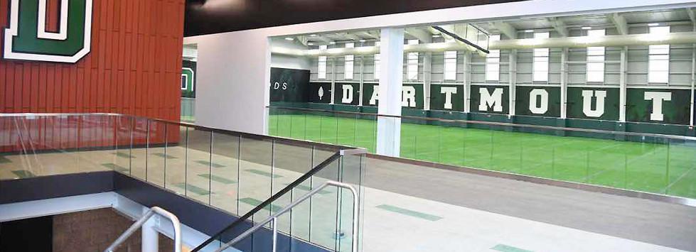Dartmouth College Indoor Practice Facility Mezzanine