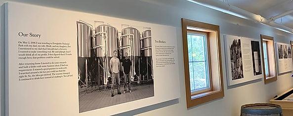 Maine Beer Company Mezzanine Canvases