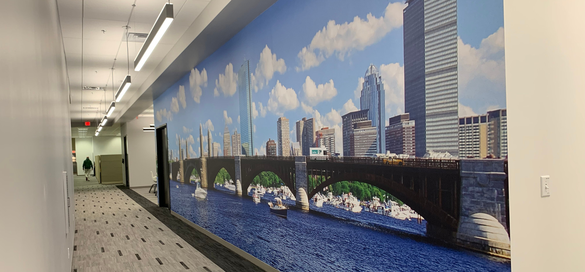 UniFirst Hall Mural