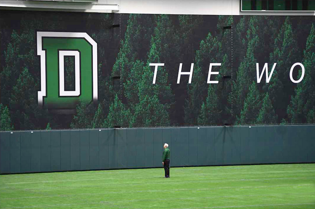 Dartmouth College Indoor Practice Facility Murals