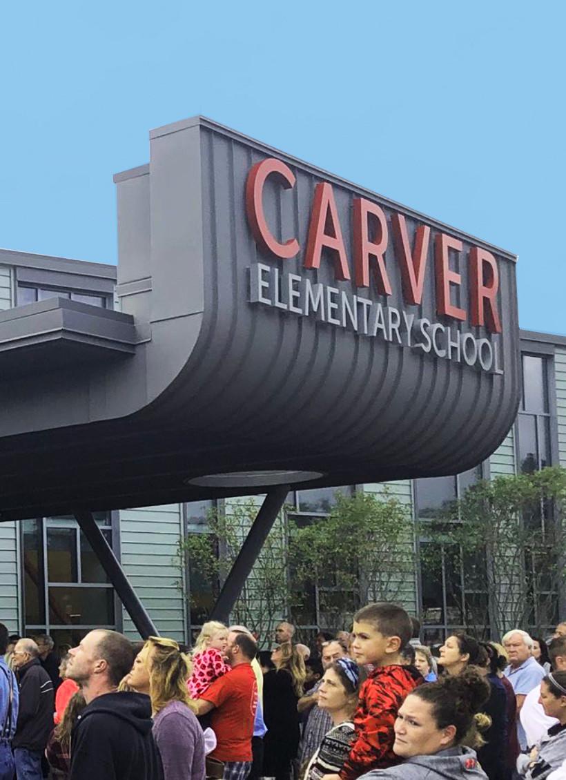 Carver Elementary School, Carver, MA