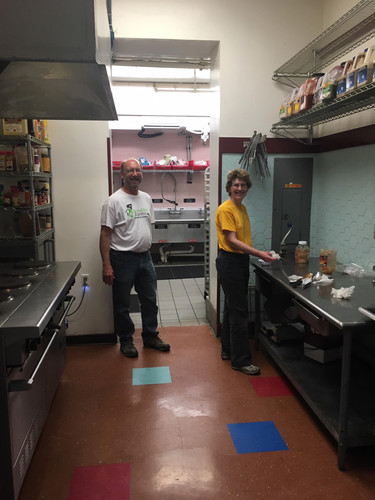 Roger and Jennifer in the CAA Kitchen.jp