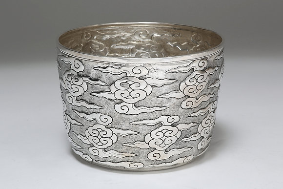 Silver Bowl - Ming Clouds II