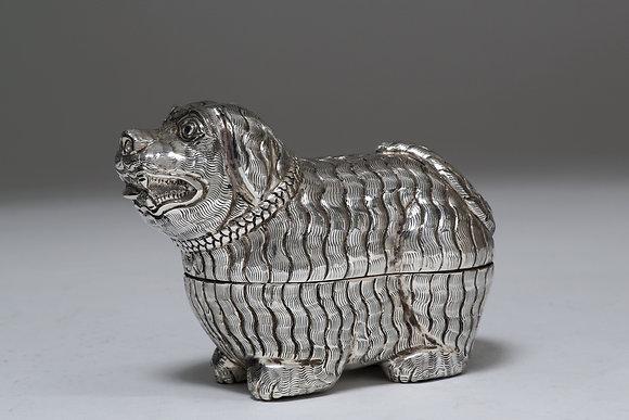 Silver Box - Dog