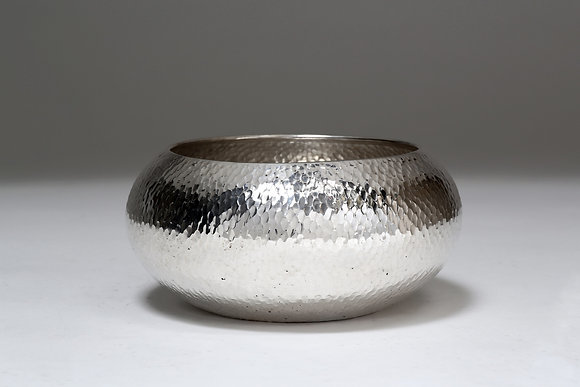 Silver Bowl - Hammered