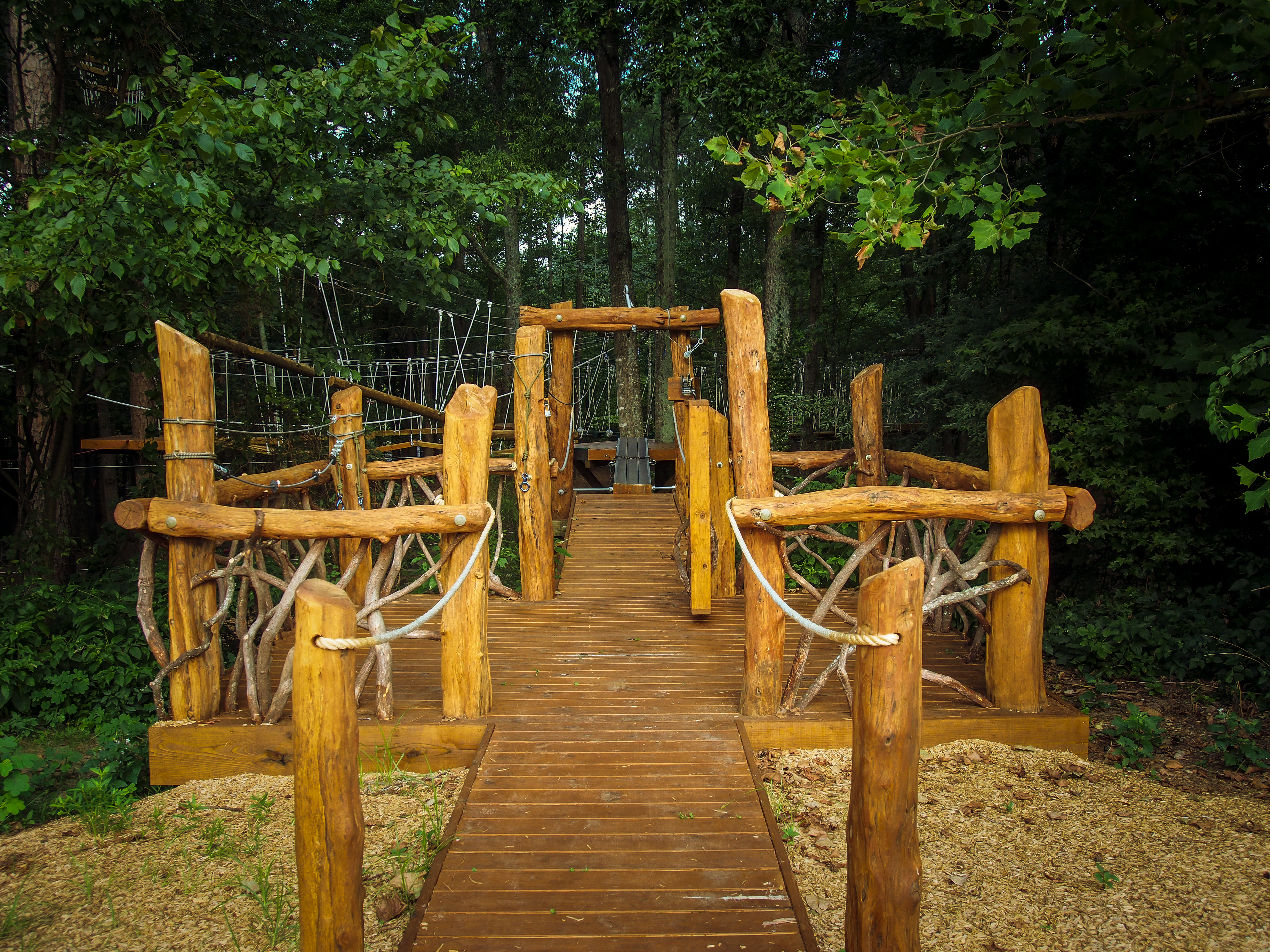 Adventure park entrance