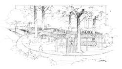 Raleigh School sketch copy